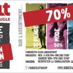 Sidecut PUB 20160531 001 Destockage 2016 't' Sidecut-shop INTERNET 1131x412pixel 300dpi RVB